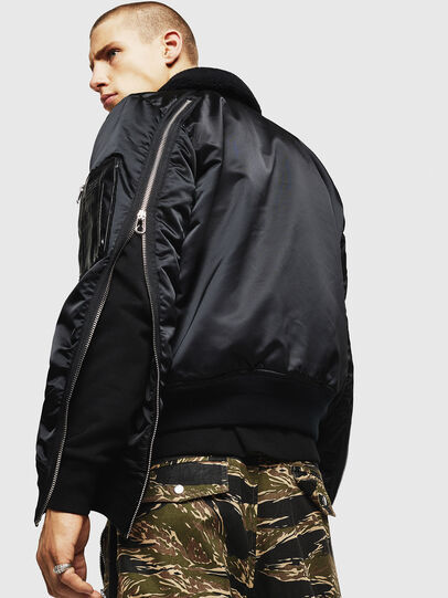 Diesel - W-FEDOVIK, Black - Winter Jackets - Image 4