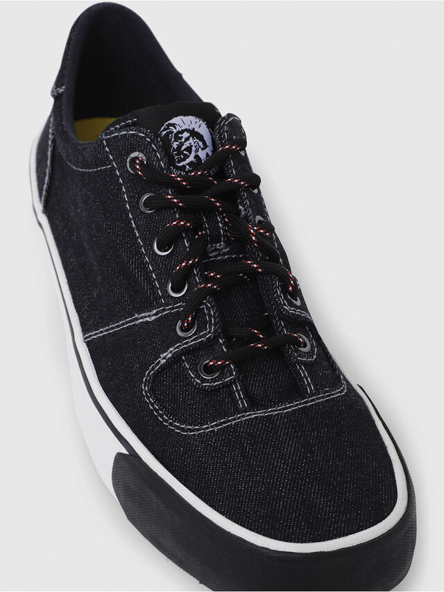 Diesel - S-FLIP LOW, Blue Jeans - Sneakers - Image 5