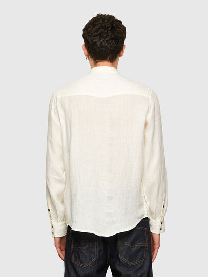 Diesel - S-EAST-LONG-LIN, White - Shirts - Image 2