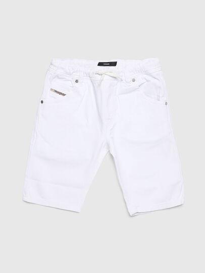 Diesel - KROOLEY-NE-J SH, White - Shorts - Image 1