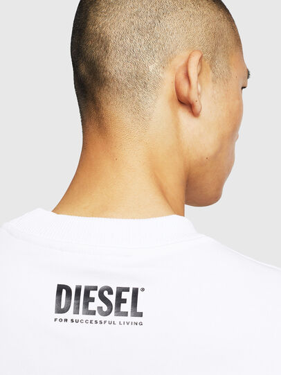 Diesel - S-LINK-MOHAWK, White - Sweaters - Image 5