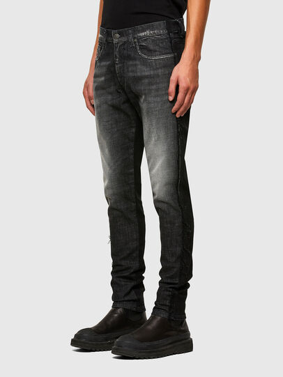 Diesel - D-Strukt 009HY, Black/Dark grey - Jeans - Image 6