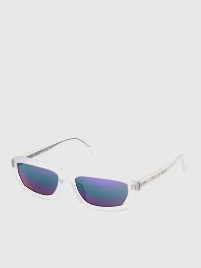 Diesel - DL0347, White - Sunglasses - Image 2