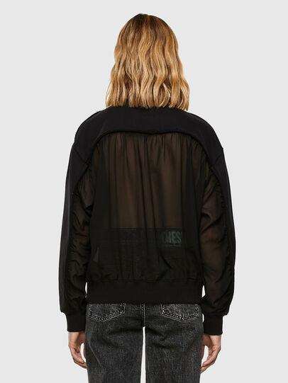Diesel - F-BIEL, Black - Sweaters - Image 7