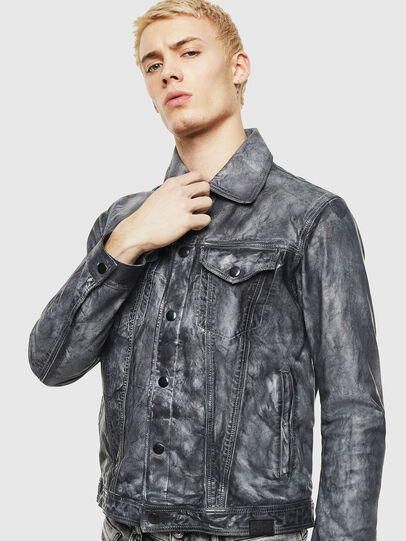 Diesel - L-NHILL,  - Leather jackets - Image 1
