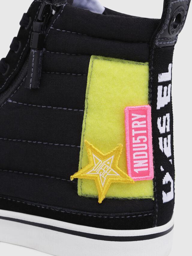 Diesel - D-VELOWS MID PATCH, Black - Sneakers - Image 5