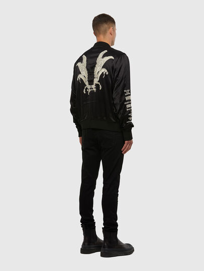 Diesel - J-SMOAK-EMBRO, Black - Jackets - Image 6