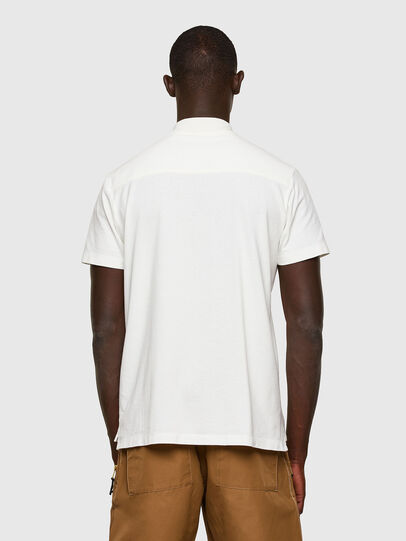 Diesel - T-POLO-WORKY, White - Polos - Image 2