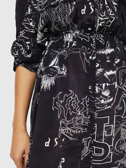 Diesel - O-MOYA-A, Black - Skirts - Image 3