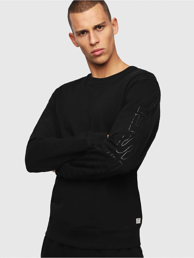 Diesel UMLT-WILLY, Black - Sweaters - Image 1