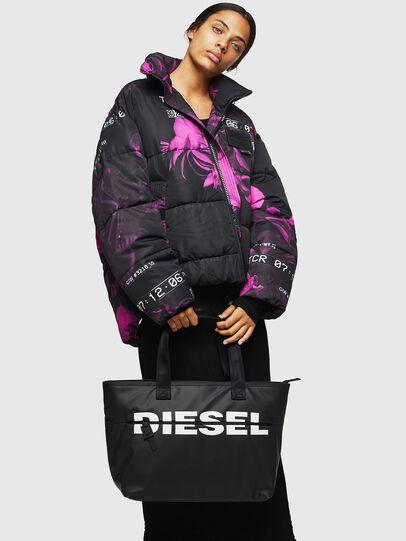 Diesel - F-BOLD SHOPPER II, Black - Shopping and Shoulder Bags - Image 6