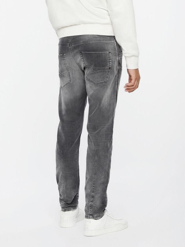 Diesel - Krooley JoggJeans 0855B, Light Grey - Jeans - Image 2