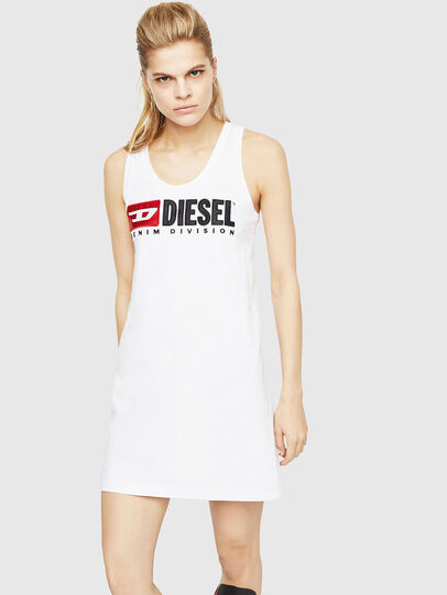 Diesel - T-SILK, White - Tops - Image 1