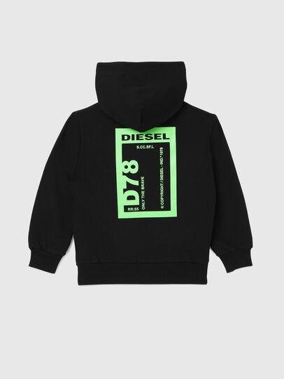 Diesel - SFULLZIP78 OVER, Black - Sweaters - Image 2