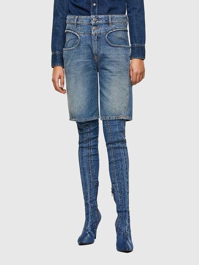 Diesel - DE-REGY-SP, Light Blue - Shorts - Image 1