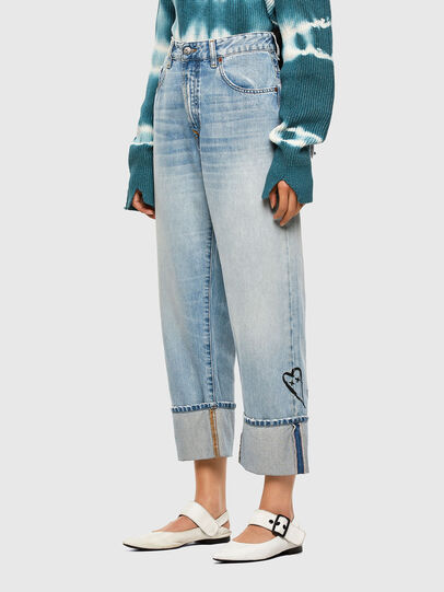 Diesel - D-Reggy 009GZ, Light Blue - Jeans - Image 7