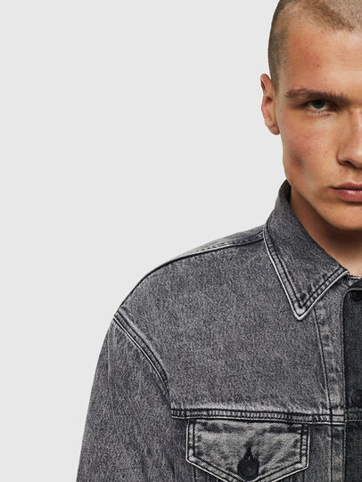 Diesel - D-POLL,  - Denim Jackets - Image 4