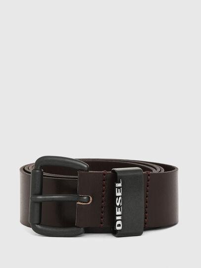 Diesel - B-ZANO, Dark Brown - Belts - Image 1