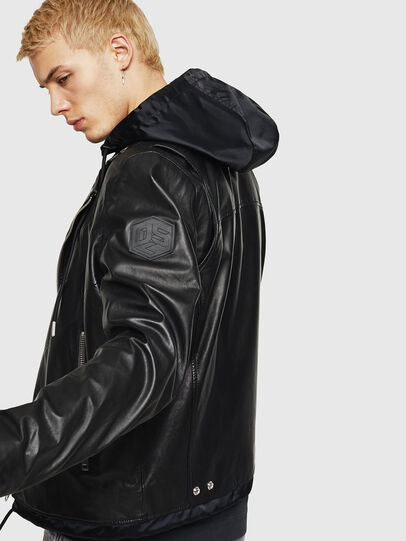 Diesel - L-SOLOVE,  - Leather jackets - Image 3