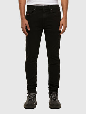D-Amny 009HB, Black/Dark grey - Jeans