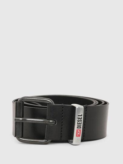 Diesel - B-VITO, Black - Belts - Image 1