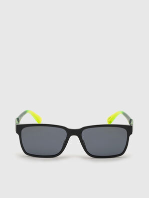 DL0327, Black/Yellow - Sunglasses