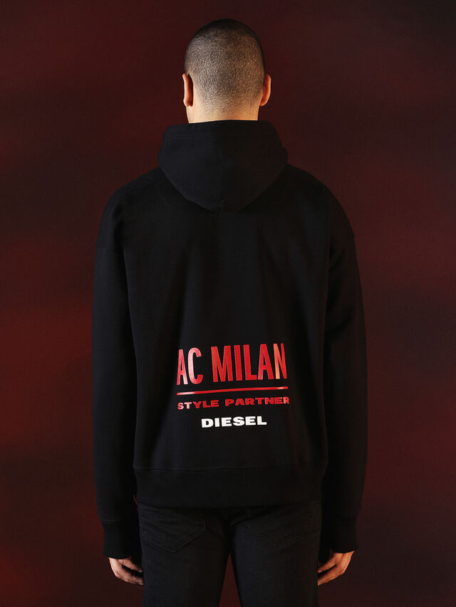 Diesel - DVL-SWEAT-SPECIAL COLLECTION, Black - Sweaters - Image 3