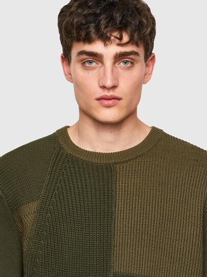 Diesel - K-YUKON, Military Green - Knitwear - Image 4