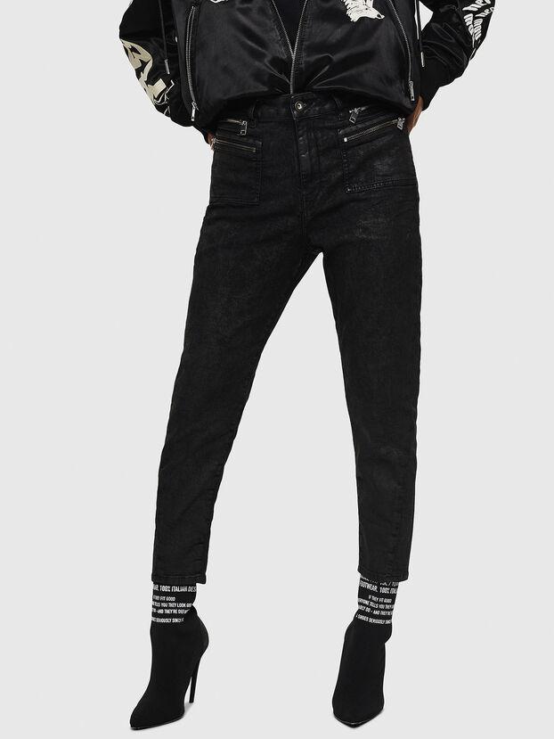 D-Eifault JoggJeans 084AG, Black/Dark grey - Jeans