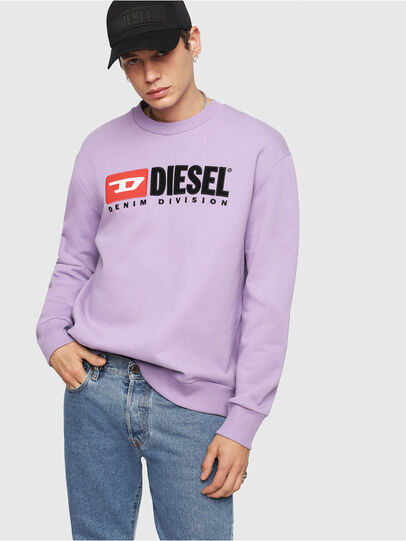 Diesel - S-CREW-DIVISION, Lilac - Sweaters - Image 4