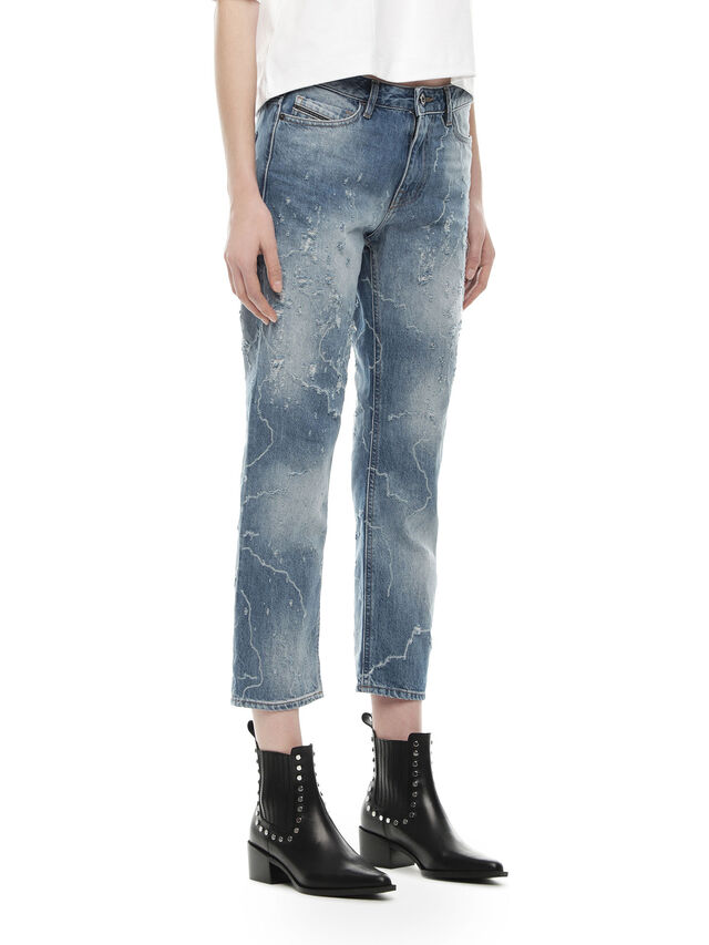 Diesel - TYPE-1820-23, Blue Jeans - Jeans - Image 3