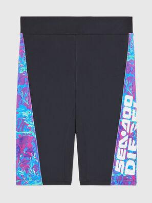 BFPN-CYCLERDOO, Black/Blue - Swim shorts