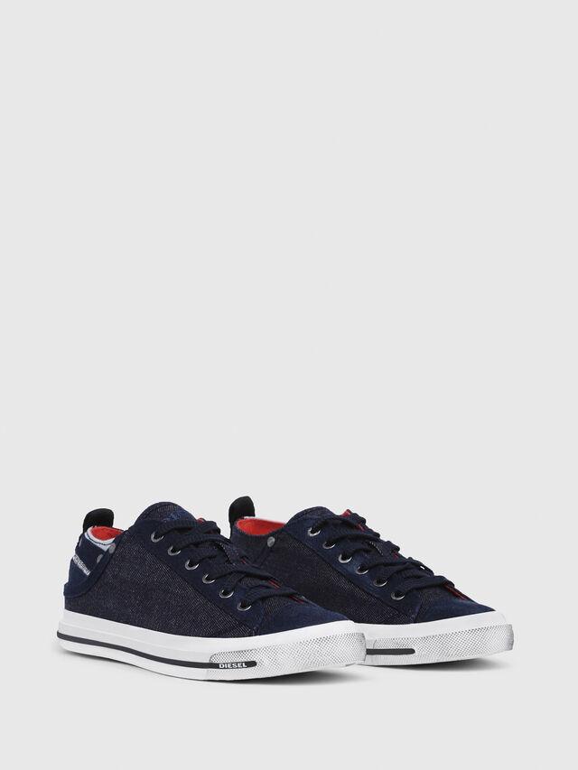 Diesel - EXPOSURE IV LOW  W, Dark Blue - Sneakers - Image 2