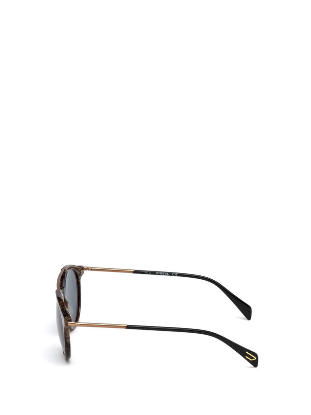 Diesel - DM0188, Brown - Sunglasses - Image 3