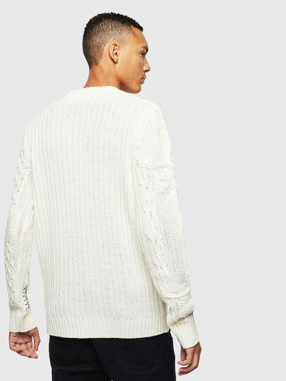 Diesel - K-BRIGLY, White - Knitwear - Image 3