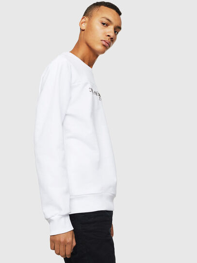 Diesel - S-CORY, White - Sweaters - Image 4