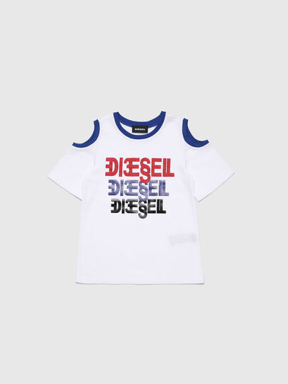 Diesel - TANIURAB-R, White - T-shirts and Tops - Image 1