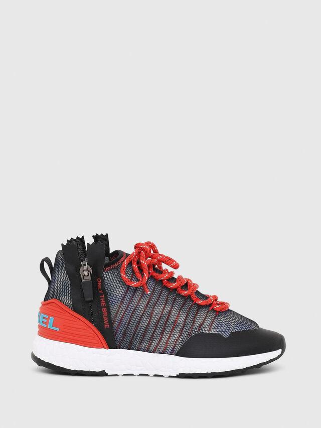 Diesel - SN MID 11 S-K CH, Blue/Red - Footwear - Image 1
