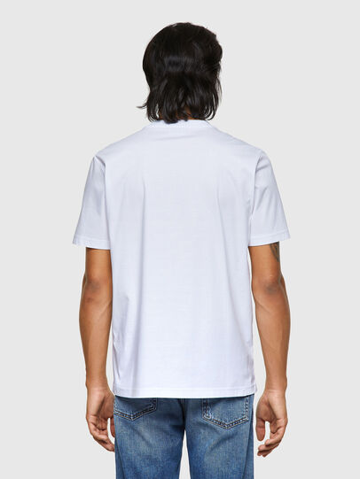 Diesel - T-JUST-ROMOHI, White - T-Shirts - Image 2