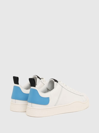 Diesel - S-CLEVER LOW LACE, White/Blue - Sneakers - Image 3