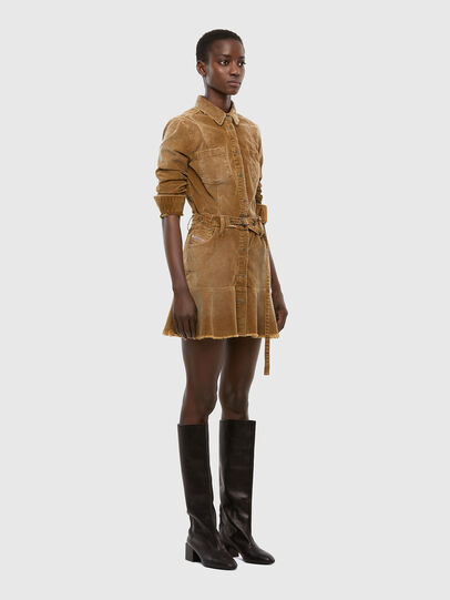Diesel - D-SHAY-A, Light Brown - Dresses - Image 6