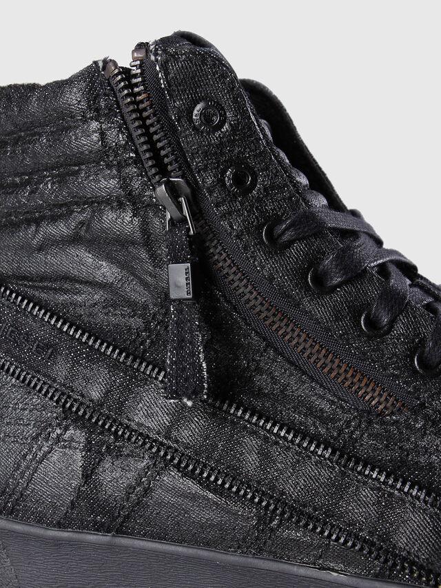 Diesel - D-STRING PLUS, Black Leather - Sneakers - Image 5