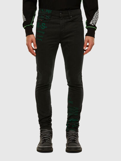 Diesel - D-REEFT JoggJeans® 009HD, Black/Dark grey - Jeans - Image 1
