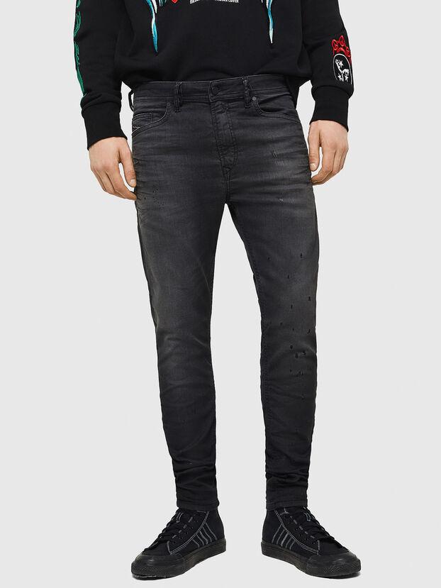 Spender JoggJeans 069GN, Black/Dark grey - Jeans