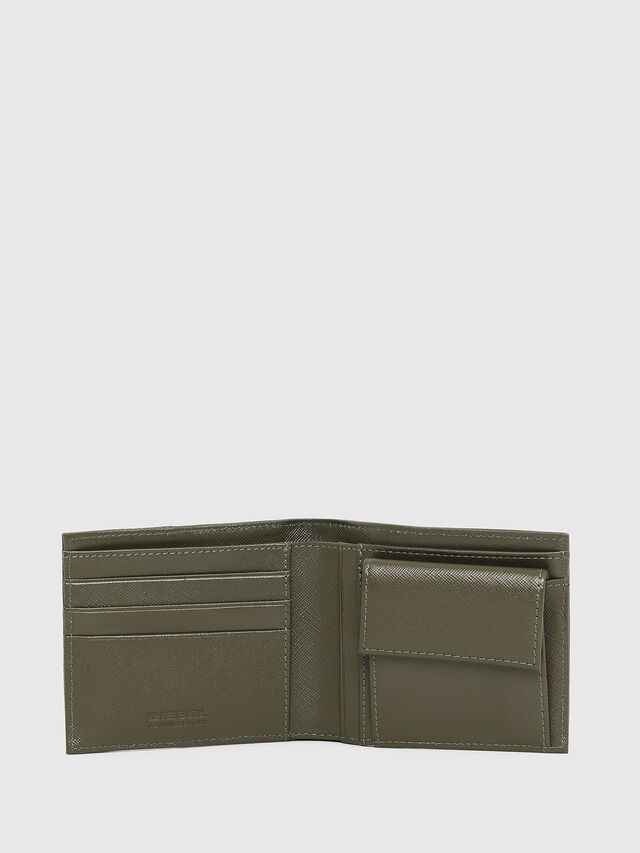 Diesel - HIRESH S, Olive Green - Small Wallets - Image 3