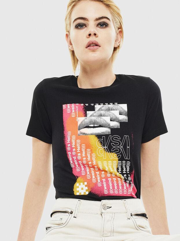 T-SILY-S5, Black - T-Shirts