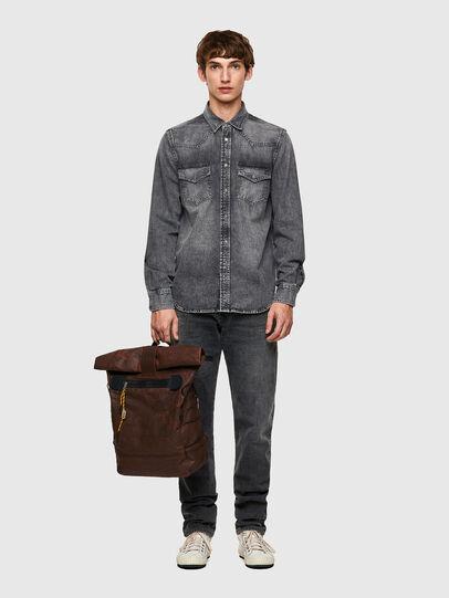 Diesel - D-EAST-P1-SP2, Dark grey - Denim Shirts - Image 5
