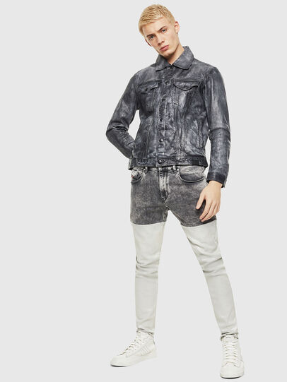 Diesel - L-NHILL,  - Leather jackets - Image 4