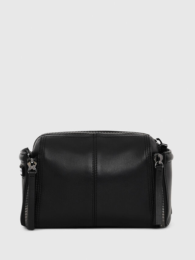 Diesel - LE-ZIPPER CROSSBODY, Black - Crossbody Bags - Image 2