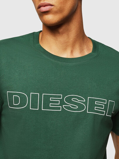 Diesel - UMLT-JAKE, Dark Green - T-Shirts - Image 3